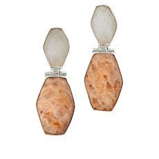 Jay King Multi-Color Moonstone Drop Earrings