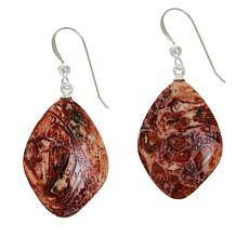 Jay King Multi-Color Mystic Agate Freeform Drop Earrings