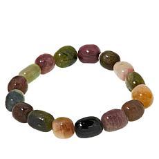 Jay King Multi-Colored Tourmaline Bead Stretch Bracelet
