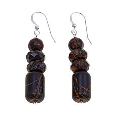 Jay King Pilbara Stone Bead Drop Earrings