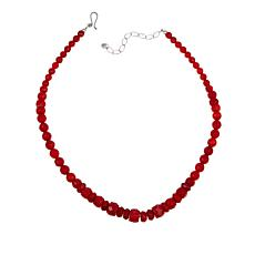 "Jay King Red Sea Bamboo Coral Beaded 18"" Necklace"