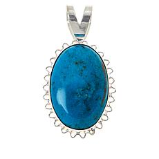 Jay King Royal Blue Turquoise Scalloped Pendant