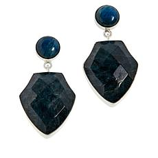 Jay King Sterling Silver Apatite Drop Earrings