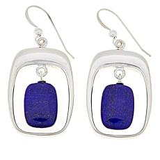 Jay King Sterling Silver Lapis Drop Earrings