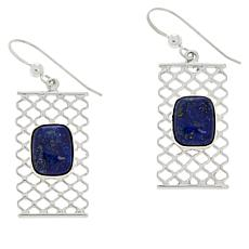 Jay King Sterling Silver Lapis Earrings