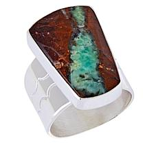 Jay King Sterling Silver Multi-Color Chrysoprase Ring