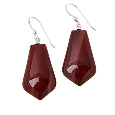 Jay King Sterling Silver Multi-Color Mookaite Drop Earrings