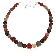Jay King Sterling Silver Multi-Gemstone Bead Necklace