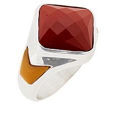 Jay King Sterling Silver Multi-Gemstone Ring