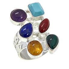 Jay King Sterling Silver Multi-Stone Ring