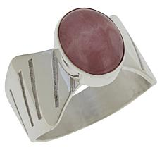 Jay King Sterling Silver Rhodochrosite Ring