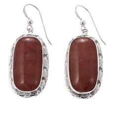 Jay King Strawberry Quartz Sterling Silver Earrings