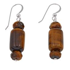 Jay King Tiger's Eye Beaded Drop Earrings