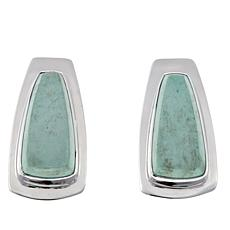 Jay King Variscite Sterling Silver Earrings