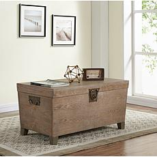 Jayce Pyramid Trunk Cocktail Table