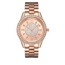 "JBW ""Mondrain"" 16-Diamond Rosetone Bracelet Watch"