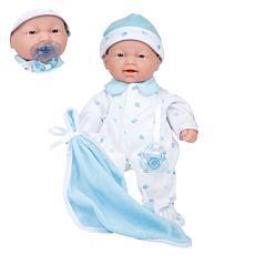 """JC Toys La Baby 11"""" Boy Soft Body Baby Doll"""