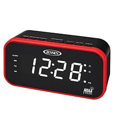 Jensen JEP-150 Alarm Clock with AM/FM Radio & Weather Alert