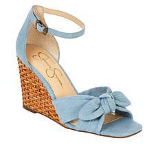 Jessica Simpson Deirah Basketweave Wedge Sandal