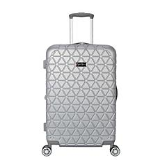 Jessica Simpson Dreamer 24-inch Hardside Luggage - Silver