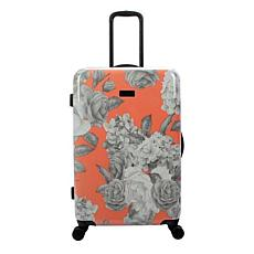 Jessica Simpson English Rose 29-inch Hardside Spinner in Coral