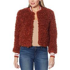 Jessica Simpson Kataleya Fuzzy Jacket