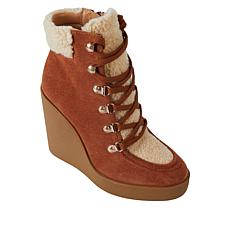 Jessica Simpson Maelyn Lace-Up Platform Wedge Hiker Boot
