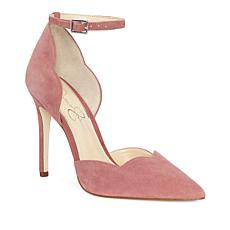Jessica Simpson Pairus Suede Scalloped Pump