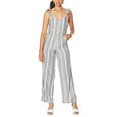 Jessica Simpson Printed Sleeveless Jumpsuit