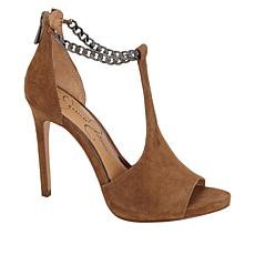Jessica Simpson Rexa Leather T-Strap Peep-Toe Pump