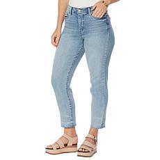 Jessica Simpson Spotlight High-Rise Slim Straight Jean - Chasing You