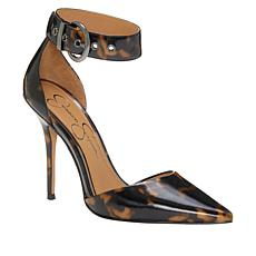 Jessica Simpson Waldin Poined Toe Ankle Strap Pump