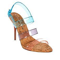 Jessica Simpson Wavie Transparent Slingback Dress Sandal