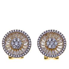 "Jewels by Jen ""Baguette Supreme"" Stud Earrings"