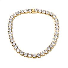 "Joan Boyce ""Black Tie Event"" CZ Stud Line Necklace"