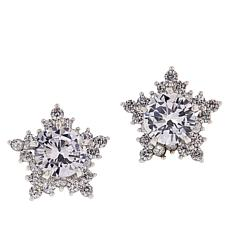 Joan Boyce Cubic Zirconia Star Stud Earrings