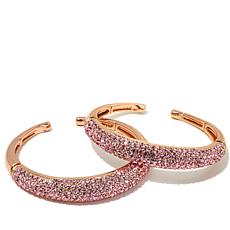 "Joan Boyce ""Guiltless Delight"" Pavé Crystal Cuffs"