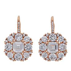 "Joan Boyce Marisa's ""Royal Wedding"" 10.34ctw CZ Clear Drop Earrings"