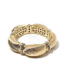 "Joan Boyce ""Shine On Golden Goddess"" Stretch Bracelet"