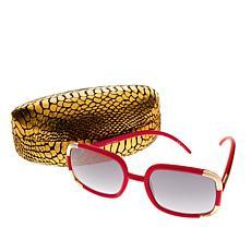 Joan Boyce Signature Square Frame Sunglasses