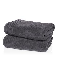 JOY 2-piece Jumbo Supreme Stretch™ Bleach/Cosmetic Resistant Towels