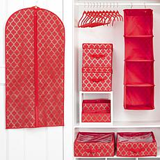 JOY 32pc Ultimate Closet Organization with Huggable Hangers® - Chrome