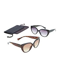 JOY 4-piece SHADES Readers Cat Eye Bifocal Sunglasses