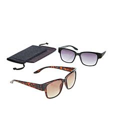 JOY 4-piece SHADES Readers Classic Bifocal Sunglasses