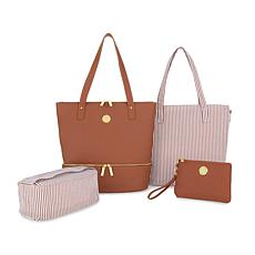 JOY Smart & Chic Leather Handbag Set