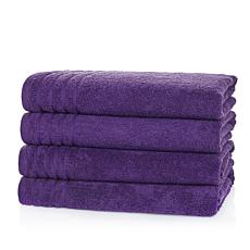 JOY Supreme Stretch™ 4-pack Bleach/CosmeticResistant Hand Towels Set