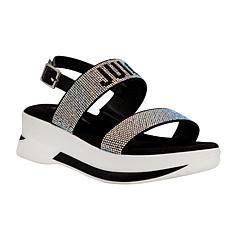 Juicy Couture Idol Platform Stretch Sandal
