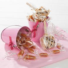 JulieAnn Caramels Set of 2 Pink Easter Pails - Receive by April 19