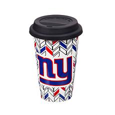 Just Add Color, Travel Cup, Chevron - New York Giants