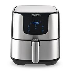Kalorik 3.5-Quart Air Fryer Pro - Stainless Steel